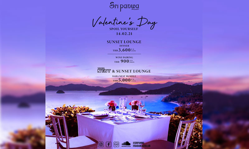 Valentine's Day at Sri panwa
