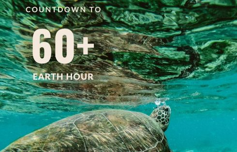 Counting down to Earth Hour, Phuket Marriott Resort and Spa, Nai Yang Beach