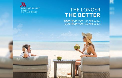 "Staycations are ""The Longer The Better"" at Phuket Marriott Resort and Spa, Nai Yang Beach!"