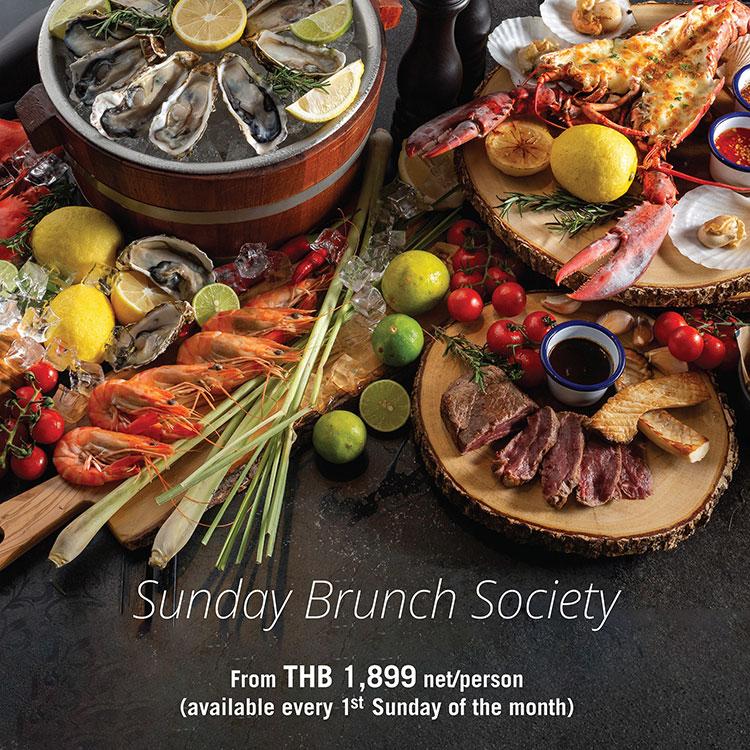 Saturday Dinner Buffet & Sunday Brunch @Four Points Phuket