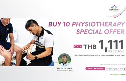 Buy 10 Physiotherapy special offer, Thanyapura