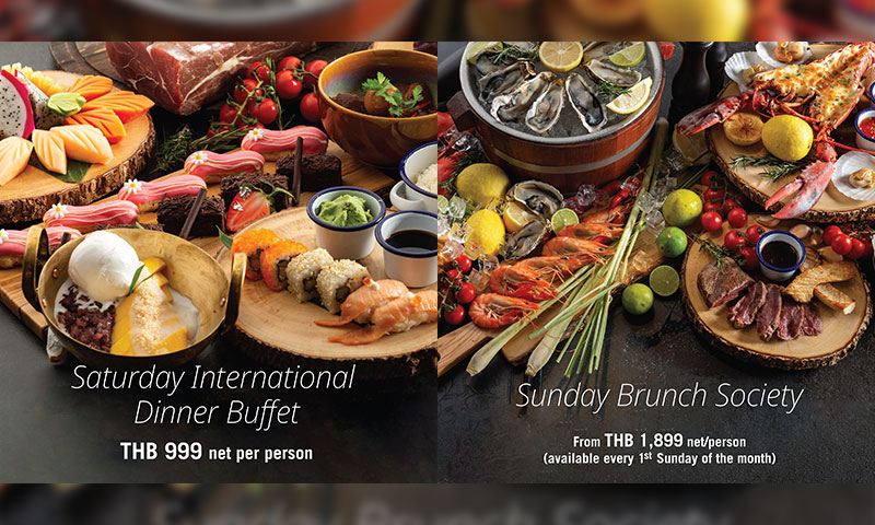 Saturday Dinner Buffet & Sunday Brunch @Four Points Phuket