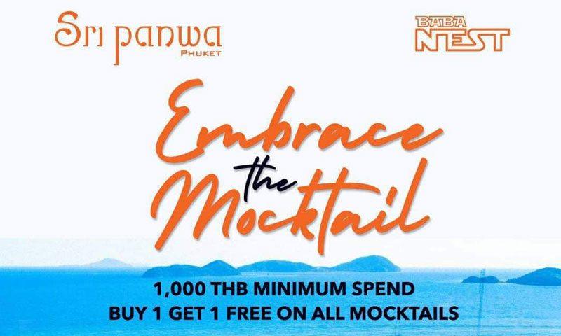 Month of the Mocktail at Sri panwa, Phuket