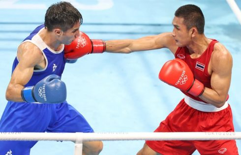 Thailand's Chatchai-Decha one win away from boxing medal at Tokyo Olympics