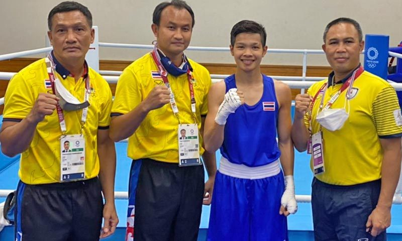 Olympic debutante Jutamas seeks revenge as 3 Thai boxers win opening bouts