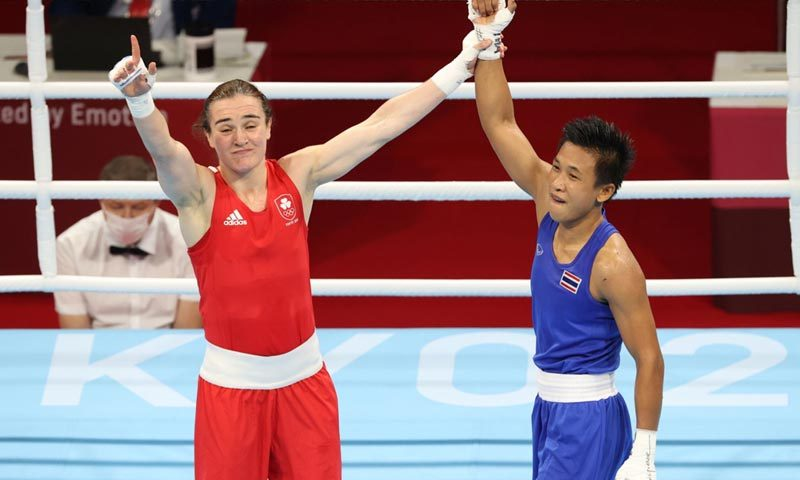 Boxer Sudaporn takes bronze after narrow loss to old foe Harrington