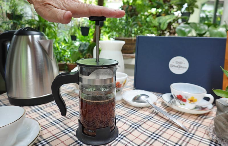 Order coffee beans online to make your own French Press coffee.