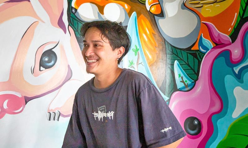 Homa Pioneers Community Vision in Phuket Town as It Partners with Local Street Artist