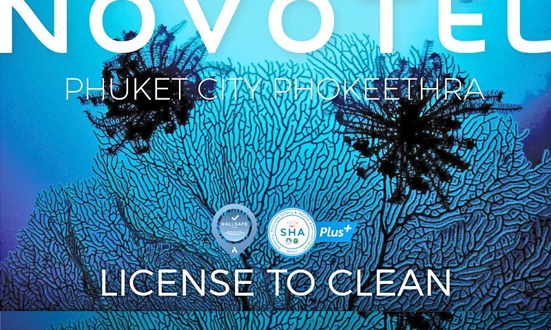 Novotel Phuket City Phokeethra launches a new package 'License to clean'