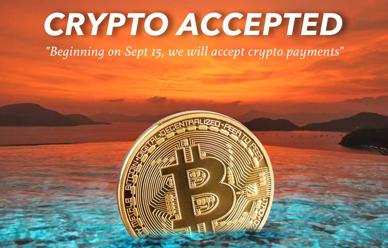 Sri panwa : Booking a holiday? Book direct to pay with crypto!