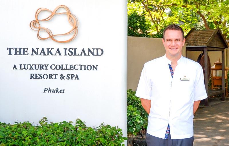 The Naka Island, Phuket- Announces new GM