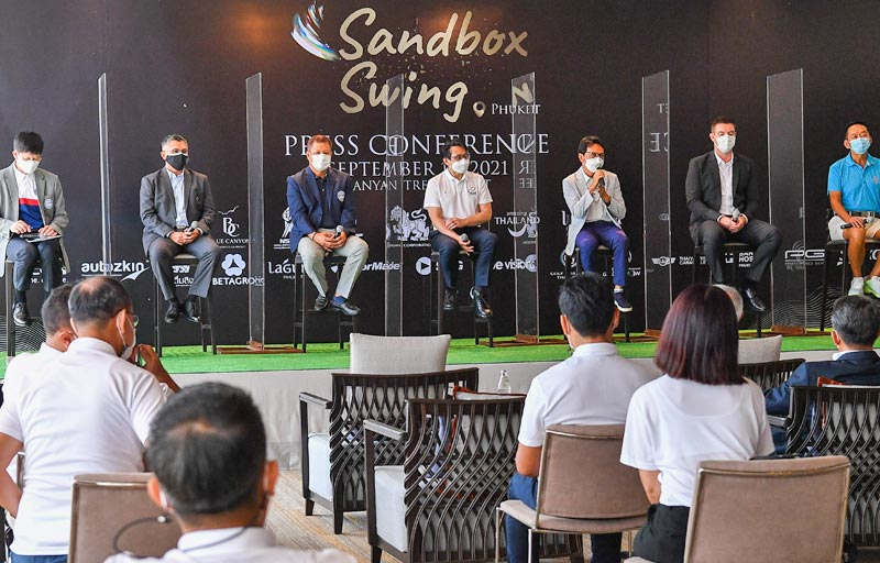 Eight golf tournaments to be held under Sandbox Swing project in Phuket