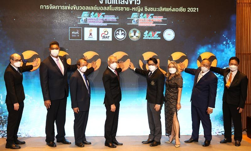Thailand hosts return of Asian Men's and Women's Club Volleyball Championships