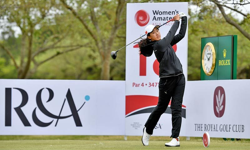 Women's Amateur Asia-Pacific championship in Abu Dhabi