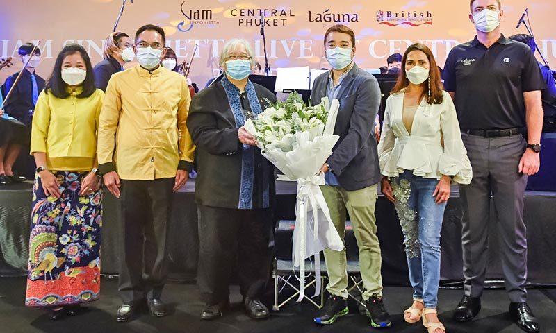 Somtow Sucharitkul and Siam Sinfonietta Light Up Laguna Phuket with Musical