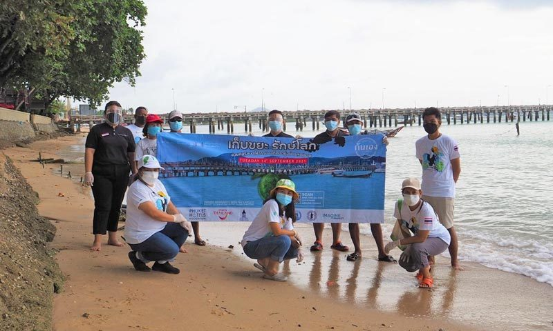 Phuket Hoteliers and Community Volunteers Come Together to Remove 3 Tonnes of Rubbish